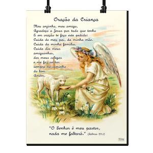 Pôster Pequeno - Oração da Criança - P-041