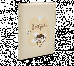 Álbum Batismo Bege - AL-003