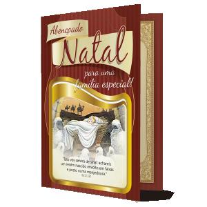 Cartão Que o nascimento do menino Jesus traga muita paz... - PN-004