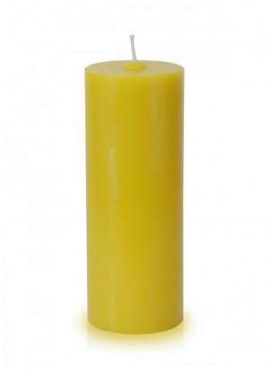 Vela para altar amarela - 20x7cm - V-006