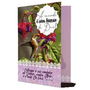 Cartão Amizade Bênção de Deus - M-326