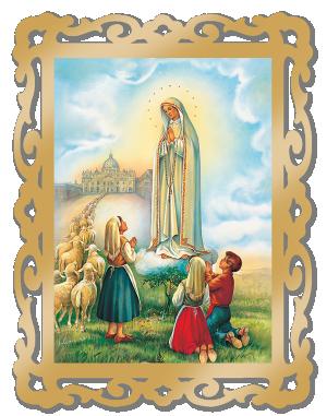 Quadro Nossa Senhora de Fátima - QG-017