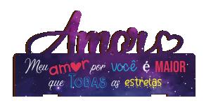Placa Decorativa de Mesa Amor - PDM-005