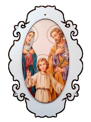Medalhão Sagrada Família - MSG-019