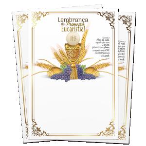 Lembrança de Eucaristia - LS-063