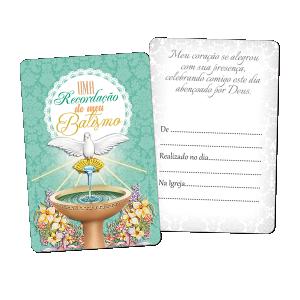 Recordação do Batismo - RE-011