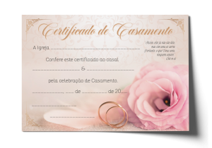 Certificado de Casamento - CEP-032