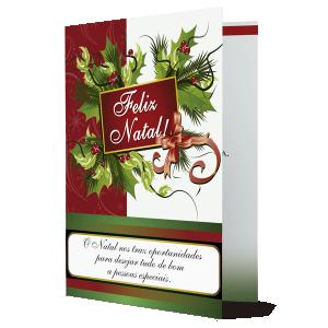 Cartão Leve em teu coração tudo o que o Natal nos ensina - MB-004