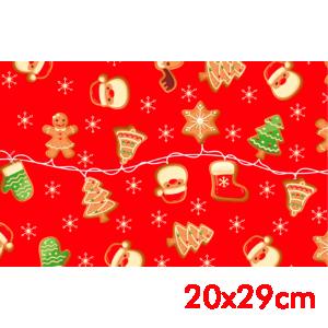 Saco de Presente - 20x29cm - Doce Natal - 50 unidades - SPN-004