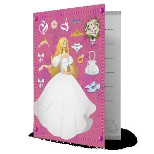 Convite 15 Anos Princesa - CV-012