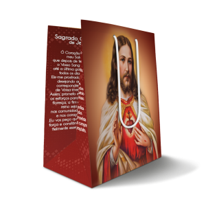 Sacola Sagrado Coração de Jesus - SC-060