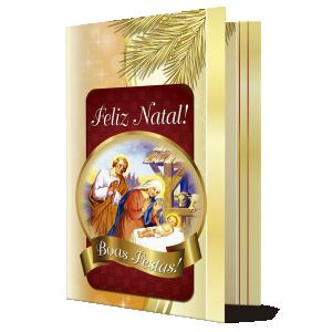 Cartão O nascimento de Jesus nos traz paz e esperança... - PN-009