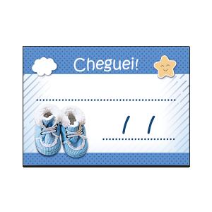 Lembrancinha Cheguei ! - LF-037