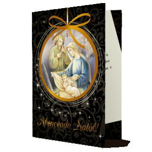 Cartão Abençoado Natal.. - MB-245