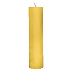 Vela para altar amarela - 30x7cm - V-008