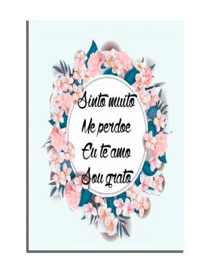 Placa Decorativa Sinto Muito... - PDF-011