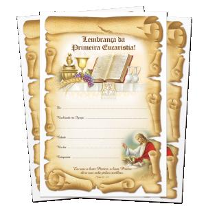 Lembrança de Eucaristia - LB-064