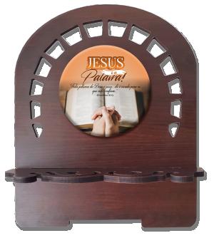 Porta Bíblia M Jesus é a Palavra - PBM-008