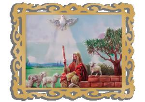 Quadro Jesus Bom Pastor - QM-052