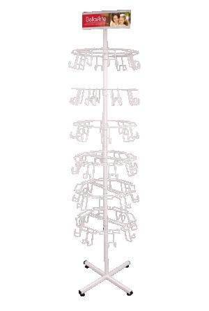 Expositor de Chão 6 Bandejas - EX-051