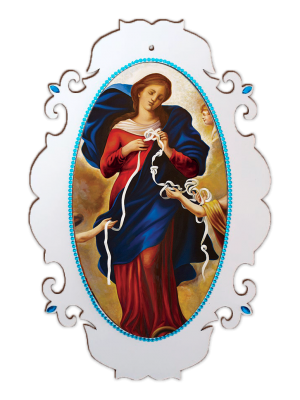 Medalhão N Sra Desatadora de Nós - MSG-016