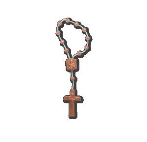 Dezena de Plástico marrom - DE-066