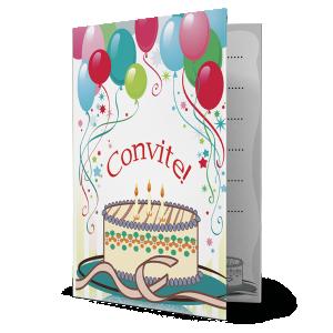 Convite Bolo de Aniversário - CV-067