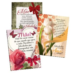 Kit Postal Mães - 160 Unidades - KP-012