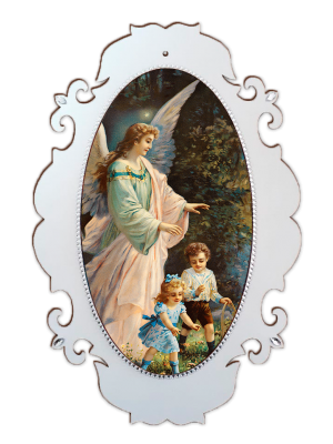 Medalhão Santo Anjo - MSG-005