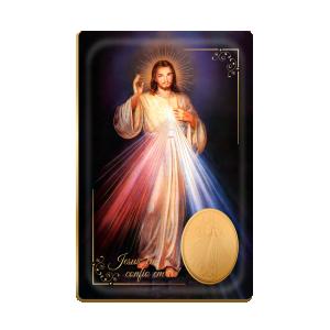 Lembrancinha Luxo Jesus Misericordioso - LDL-009