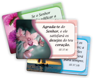 Kit Imã de geladeira Salmos - IM-010