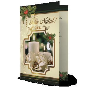 Cartão Que o Natal não seja apenas festa para uma noite. Mas que possa ser vida, luz e esperança... - NH-040