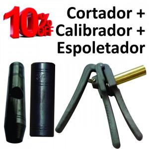 Kit 5 - Espoletador + Calibrador + Cortador