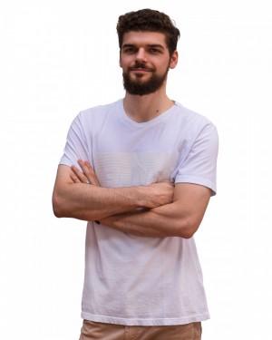 CAMISETA ELLUS COTTON 3D BRANCO