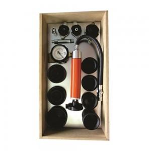 Teste de arrefecimento para testes de radiadores e tampas dos reservatórios comuns e selados
