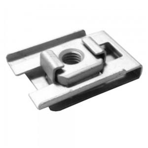 Porca rápida M6 (c/ Inserto) - Parachoques traseiros- 6 peças