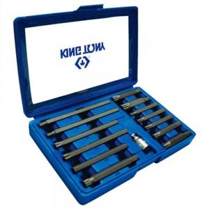 """Conjunto com 13 chaves especiais para parafusos de fixação do cabeçote - 1/2"""""""