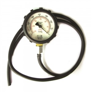 Vacuômetro automotivo 0 a 760 Pol/Hg