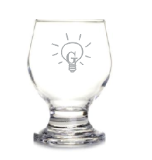 Taça em vidro para água 250ml