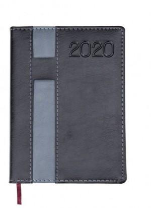 Agenda diária 2020 metalizada
