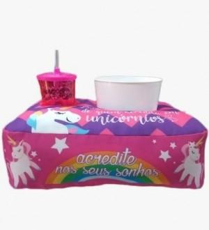 Almofada Pipoca Unicornio