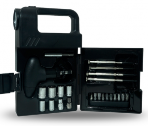 Kit ferramentas 24 Pç com Lanterna