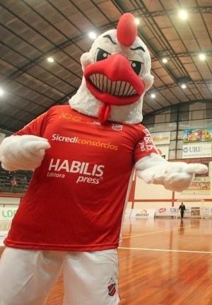 Mascote Atlântico Futsal (GALO)