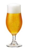 Taça de vidro para cerveja 325ml