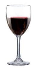 Taça de vidro para vinho 445ml