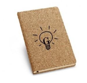 Caderneta ecológica em cortiça