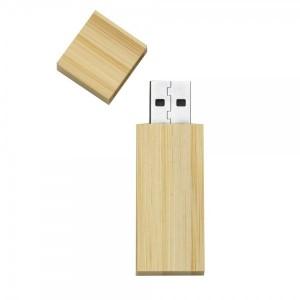 Pen Drive 4GB em bambu