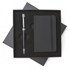 Kit executivo caneta e caderneta