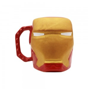 CANECA FORMATO 3D 400ML IRON MAN