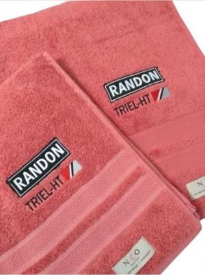 Kit toalha de banho+rosto